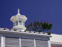 Karibisches Dach stockbild