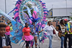 Karibisches Festival stockbild