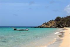 Karibisches Fischerboot Lizenzfreie Stockbilder