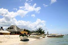 Karibisches Fischerdorf Lizenzfreie Stockbilder