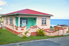 Karibisches Haus Stockfoto