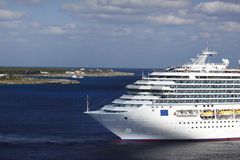Karibisches Kreuzschiff Lizenzfreies Stockbild