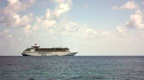 Karibisches Kreuzschiff Lizenzfreie Stockfotografie