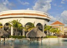 Karibisches Luxuxhotel Stockfotografie