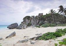 Karibisches Meer, der Strand, Mexiko Stockbilder