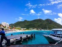 Karibisches Meer Philisburg Stockfotos