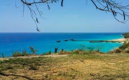 Karibisches Paradies Stockbilder