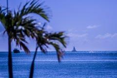Karibisches Schiff St. Maarten Stockfotografie