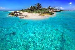 karibisk ö Fotografering för Bildbyråer