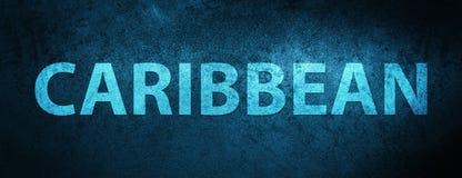 Karibisk bakgrund för sakkunnigblåttbaner royaltyfri illustrationer