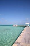 Karibisk brygga Royaltyfri Foto