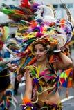 karibisk carnaval festival rotterdam Royaltyfria Bilder