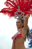 karibisk carnaval festival rotterdam Royaltyfria Foton
