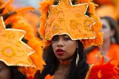 karibisk carnaval festival rotterdam Royaltyfri Fotografi