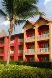 karibisk färgrik semesterort arkivbilder