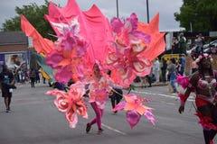 Karibisk festival Arkivfoto
