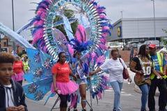 Karibisk festival Fotografering för Bildbyråer