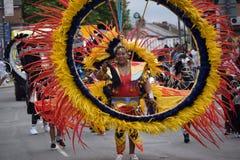 Karibisk festival Arkivbild