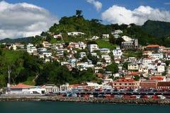 karibisk hamn Royaltyfria Foton