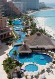 karibisk hotellsemesterort Arkivbild