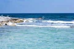 Karibisk kust Arkivfoto