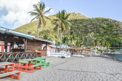 Karibisk lekplats Arkivbild