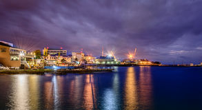karibisk port Arkivfoton