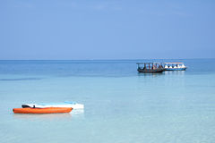 karibisk seascape royaltyfri foto