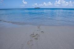 karibisk segelbåt Fotografering för Bildbyråer
