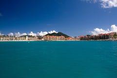 karibisk semesterort Arkivbild