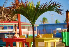 karibisk stångstrand Royaltyfri Fotografi