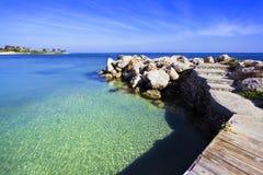 Karibisk strand Royaltyfri Foto