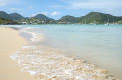 Karibisk strand 1 royaltyfri fotografi