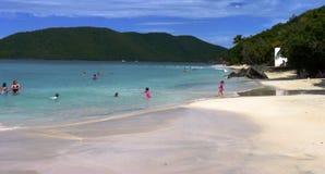 Karibisk strand Fotografering för Bildbyråer