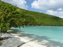 karibisk turkos för strand arkivfoton