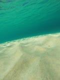 Karibisk undervattens- Seascape arkivfoton