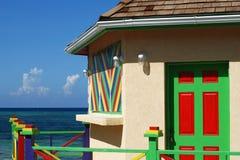 karibiska färger Arkivfoton