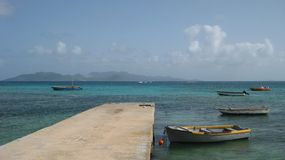karibiska fartyg Royaltyfria Bilder
