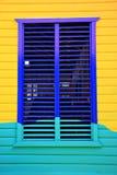 karibiskt fönster royaltyfria foton