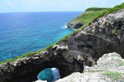 karibiskt hav Arkivfoto