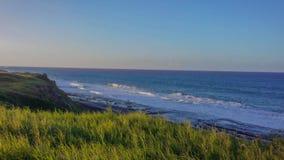 Karibiskt hav, tropisk strand i södra Puerto Rico Fotografering för Bildbyråer