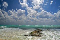 Karibiskt hav/Yucatan, Mexico Arkivbilder