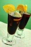 karibiskt kylt kaffe arkivbild