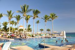 Karibiskt Mexico strandsemesterort Royaltyfria Bilder