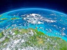 Karibiskt på jord Arkivfoto