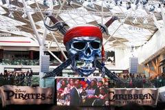 karibiskt piratkopierar konstigare tides royaltyfri bild
