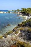 karidi na plaży Zdjęcia Stock