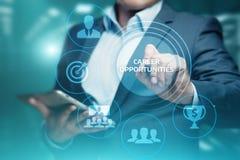 Karier sposobności motywaci Biznesowego sukcesu Korporacyjny pojęcie zdjęcie stock