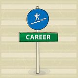 kariera sposób ilustracja wektor