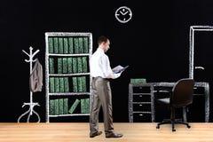 Kariera, wartość, diagram, giełda papierów wartościowych Zdjęcia Stock